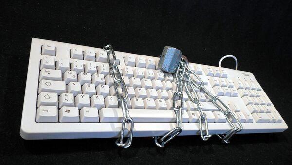 Keyboard  lock - Sputnik International