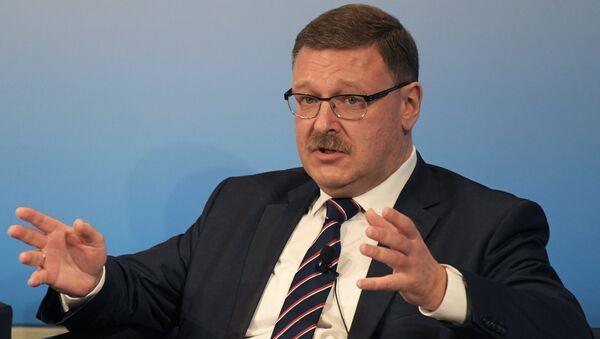 Konstantin Kosachev, Chairman of the Federation Councils' Foreign Affairs Committee. (File) - Sputnik International