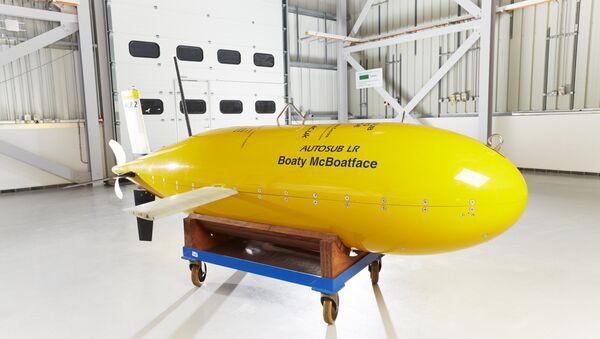 Boaty McBoatface as a Yellow Submarine. - Sputnik International