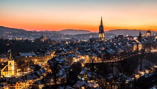 A photo of the old city of Bern, Switzerland, taken from the Rosengarten park. (File) - Sputnik International
