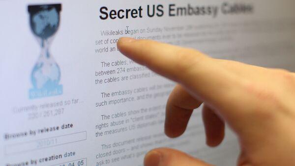 Internet users reading the international media project WikiLeaks. (File) - Sputnik International