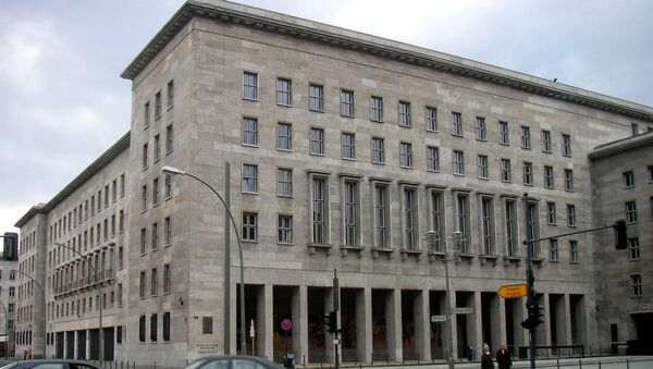Federal Ministry of Finance in Germany. (File) - Sputnik International