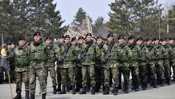 Members of the Kosovo Security Force. File photo - Sputnik International