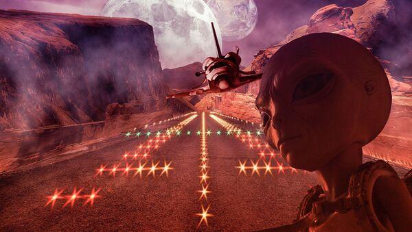 Mars alien - Sputnik International