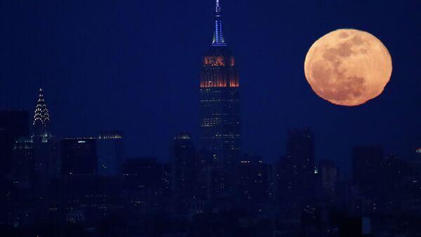 Полнолуние в Нью-Йорке  - Sputnik International
