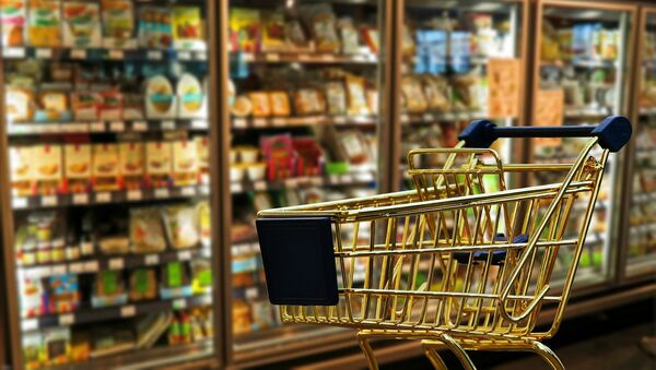 Supermarket cart - Sputnik International