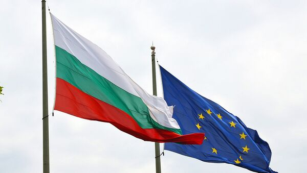 Bulgarian and EU flags. The Balkan nation joined the supranational union in 2007. - Sputnik International