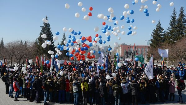 Russia marks third anniversary of Crimea's accession to the Russian Federation. - Sputnik International