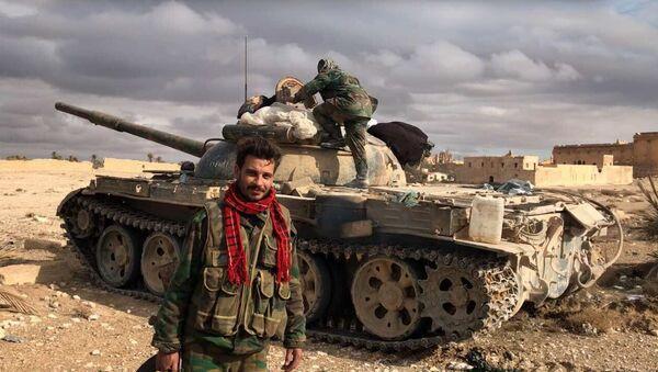 Syrian soldiers. File photo - Sputnik International