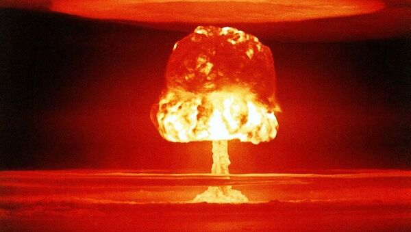 Nuclear mushroom - Sputnik International