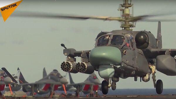 Russian Naval K52-K Attack Helicopter - Sputnik International