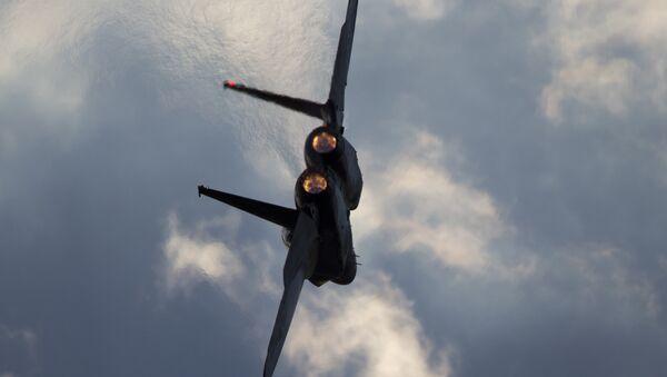 Israeli Air Force F-15 jet. (File) - Sputnik International