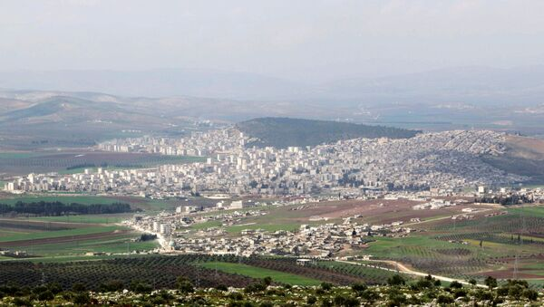A general view shows the Kurdish-controlled city of Afrin, northern Syria. (File) - Sputnik International
