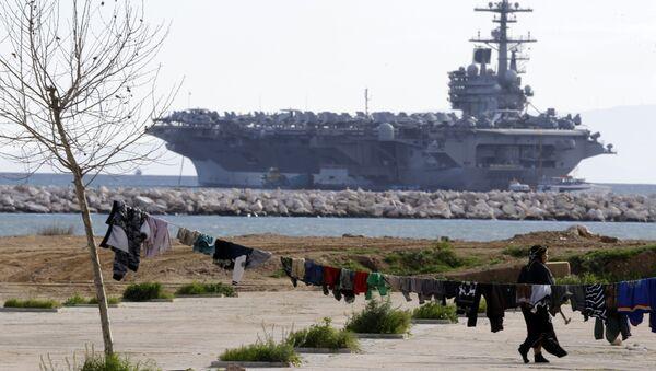 USS George H.W. Bush - Sputnik International