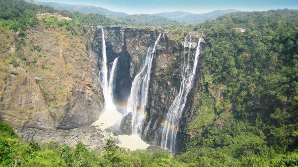Водопад Герсоппа в Индии  - Sputnik International