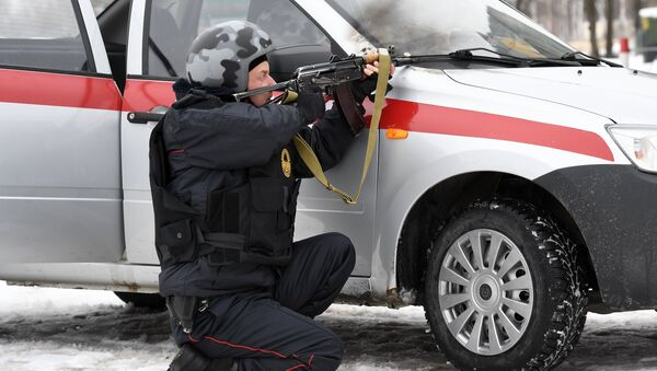 Russian Guard servicemen. File photo - Sputnik International