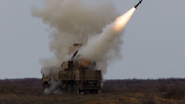 Air Defense soldiers during exercise, Ashuluk firing ground - Sputnik International