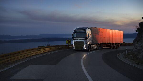 Vollvo truck - Sputnik International