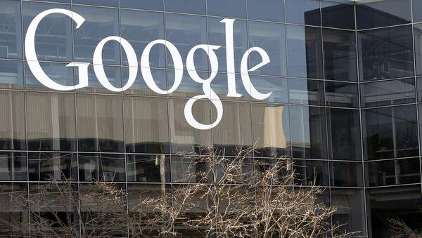 Google headquarters in Mountain View, Calif. 2013 - Sputnik International