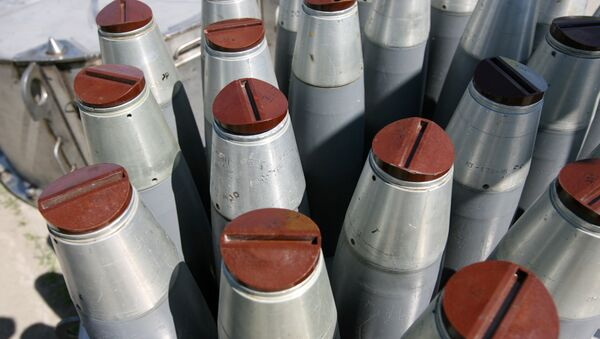 Chemical shells. File photo - Sputnik International