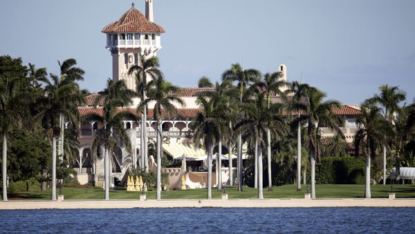 This Monday, Nov. 21, 2016, photo, shows the Mar-a-Lago resort owned by President-elect Donald Trump in Palm Beach, Fla. - Sputnik International