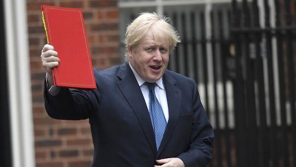 Britain's Foreign Secretary Boris Johnson arrives in Downing Street, London, March 14, 2017 - Sputnik International