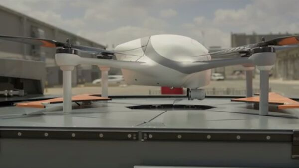 Optimus, an automated drone that can function without human control. - Sputnik International