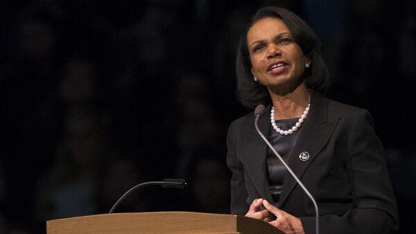 Former United States Secretary of State Condoleezza Rice. (File) - Sputnik International