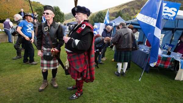 March and rally for Scotland's independence in Edinburgh (File) - Sputnik International
