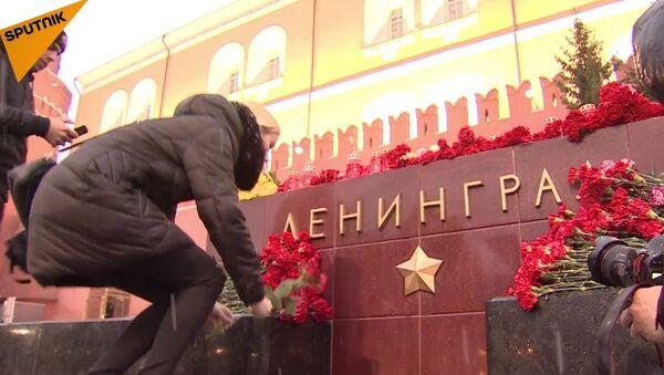 People Honor The Victims Of Saint Petersburg Deadly Blast - Sputnik International