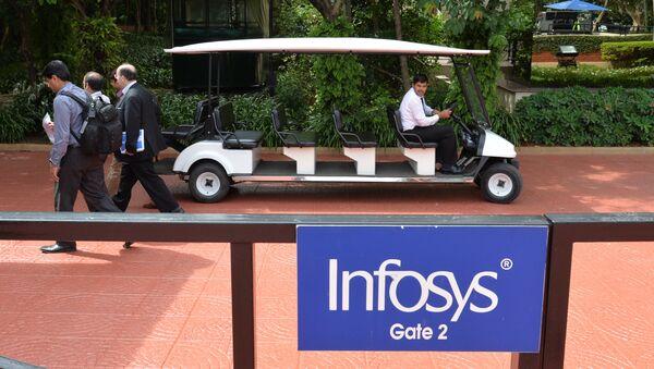 Employees of Infosys company. (File) - Sputnik International