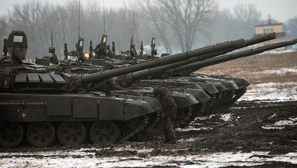 T-72 B3 tanks - Sputnik International