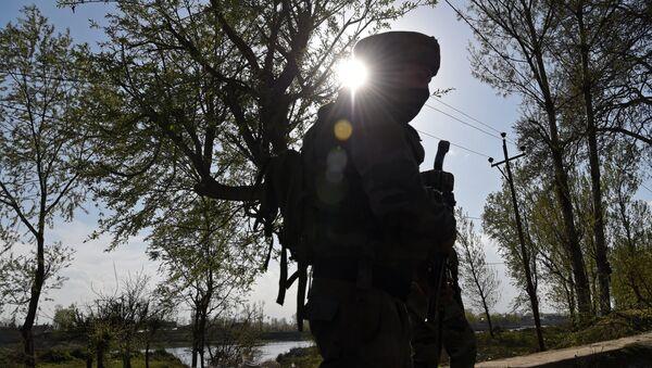 Indian army soldier  - Sputnik International