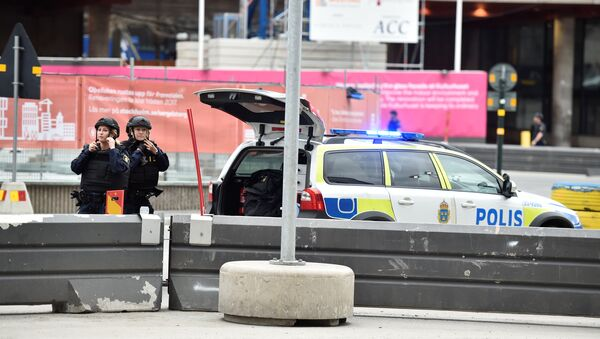 People killed in incident when a truck was driven Friday April 7 2017 into a department store in central Stockholm, Sweden April 7, 2017. - Sputnik International