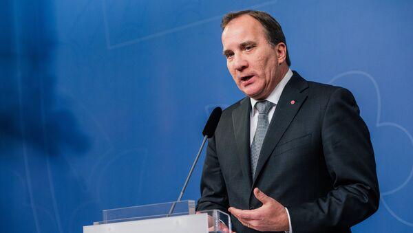 Swedish Prime Minister Stefan Lofven - Sputnik International