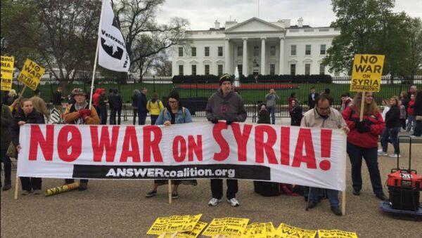 Syria Protest - Sputnik International