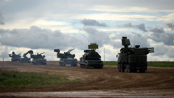The military machinery show at the Alabino training ground held as part of the international military-technical forum ARMY-2016 - Sputnik International