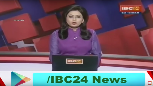 Indian News Anchor Learns of Husband's Death as She Reports it Live - Sputnik International