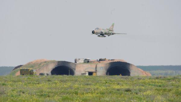 Syrian Air Forces resume flights from Ash Sha'irat air base - Sputnik International