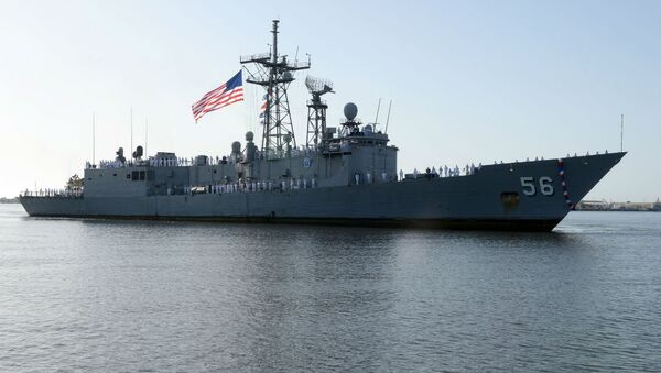 USS Simpson - Sputnik International