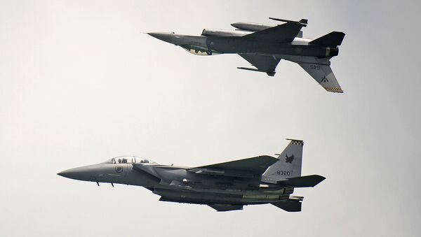 Singapore F-15 - Sputnik International