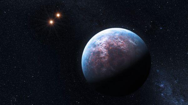 An artist's illustration of the Gliese 667Сс exoplanet - Sputnik International