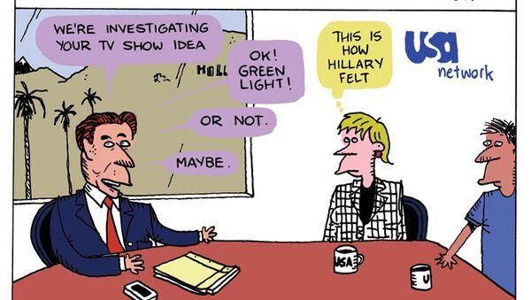 FBI Reality Show Cartoon - Sputnik International
