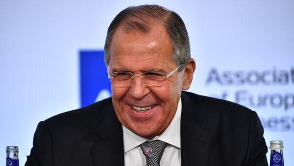 Russian Foreign Minister Sergey Lavrov - Sputnik International