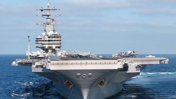 USS Ronald Reagan - Sputnik International