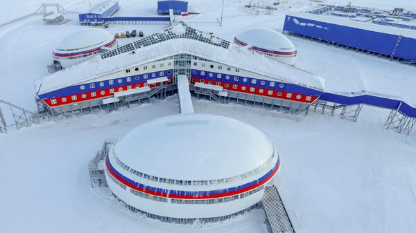 Base of the Russian Defense Ministry in Arctic - Sputnik International