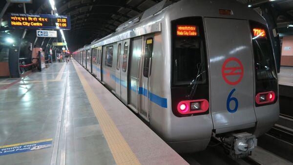 Delhi Metro  - Sputnik International