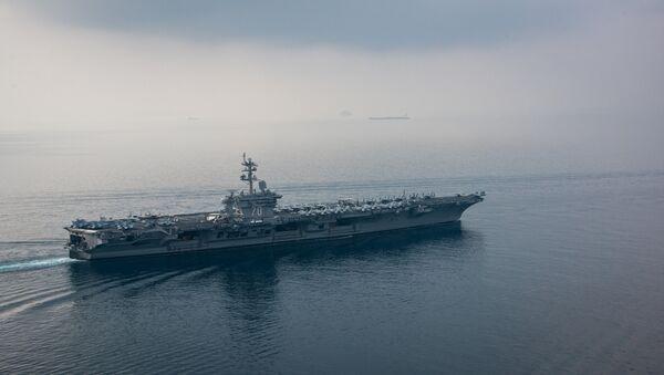 The aircraft carrier USS Carl Vinson (CVN 70) - Sputnik International