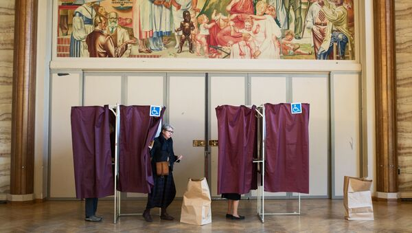 First round of French presidential election - Sputnik International
