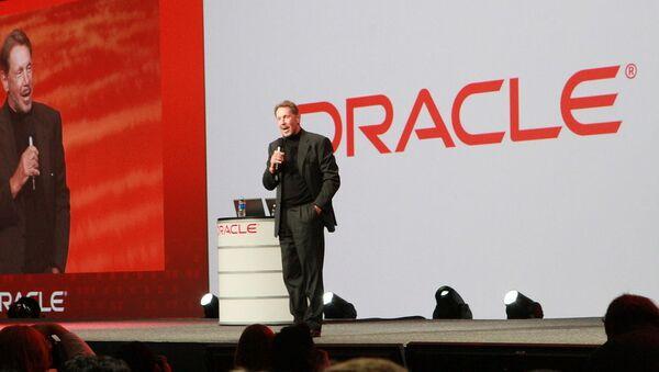 Larry Ellison, chairman of Oracle Corp - Sputnik International
